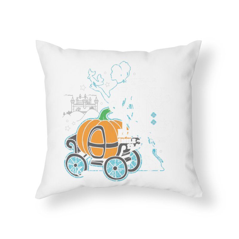 Fairy Tale Home Throw Pillow by Moon Joggers's Artist Shop