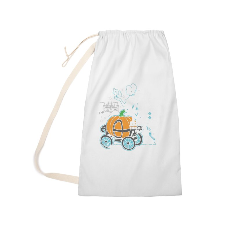 Fairy Tale Accessories Laundry Bag Bag by Moon Joggers's Artist Shop