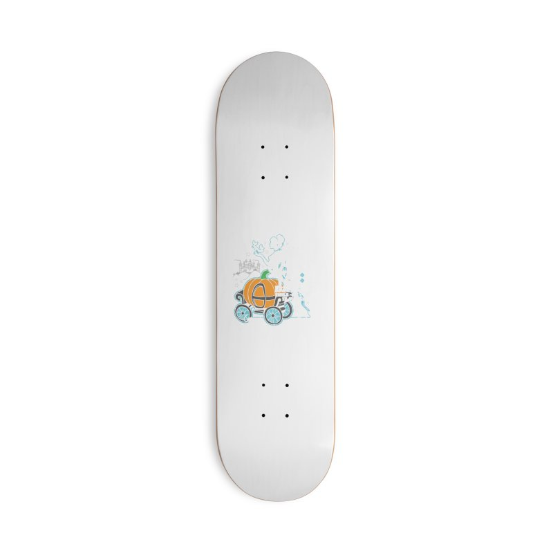 Fairy Tale Accessories Deck Only Skateboard by Moon Joggers's Artist Shop