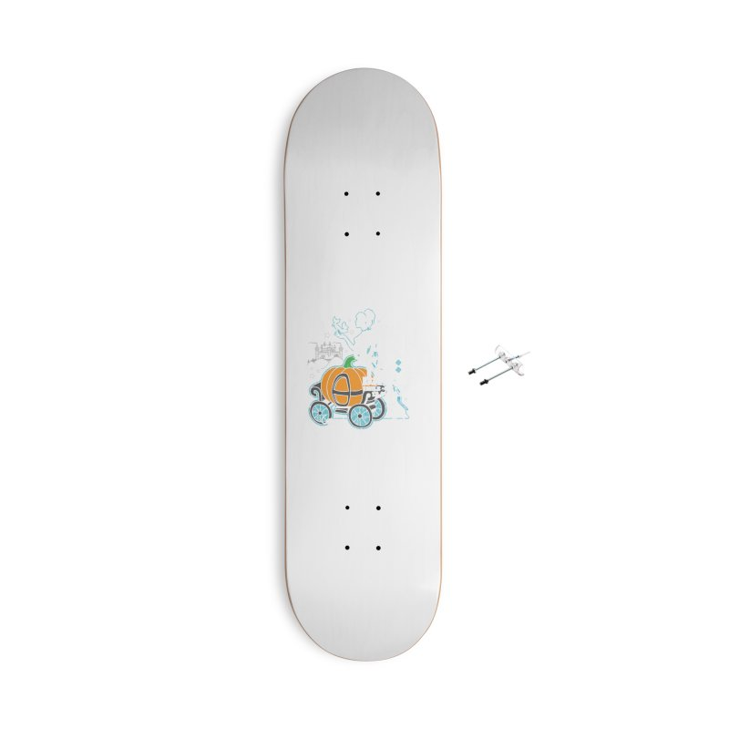 Fairy Tale Accessories With Hanging Hardware Skateboard by Moon Joggers's Artist Shop