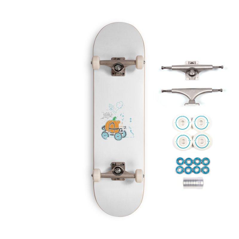 Fairy Tale Accessories Skateboard by Moon Joggers's Artist Shop