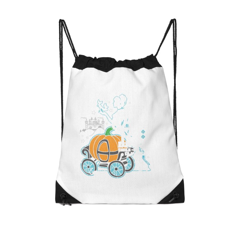 Fairy Tale Accessories Drawstring Bag Bag by Moon Joggers's Artist Shop