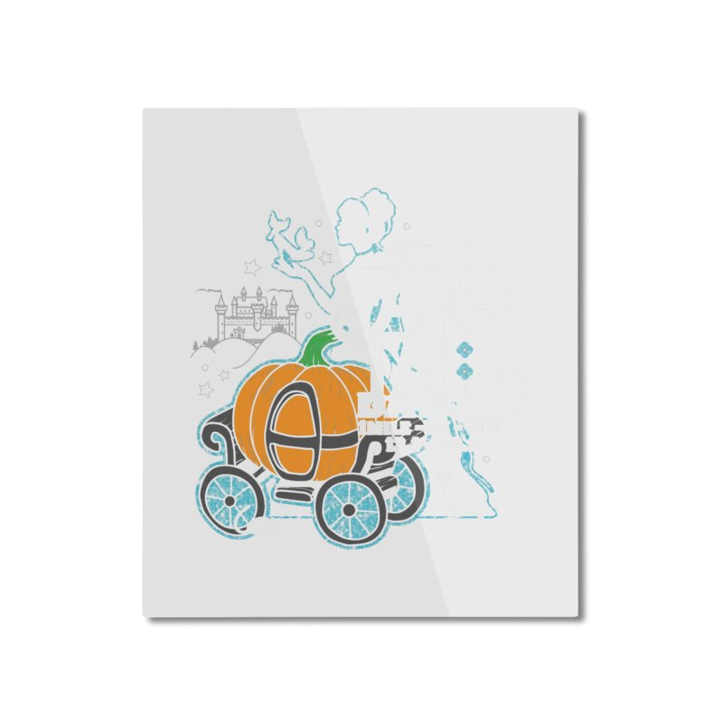Fairy Tale Home Mounted Aluminum Print by Moon Joggers's Artist Shop