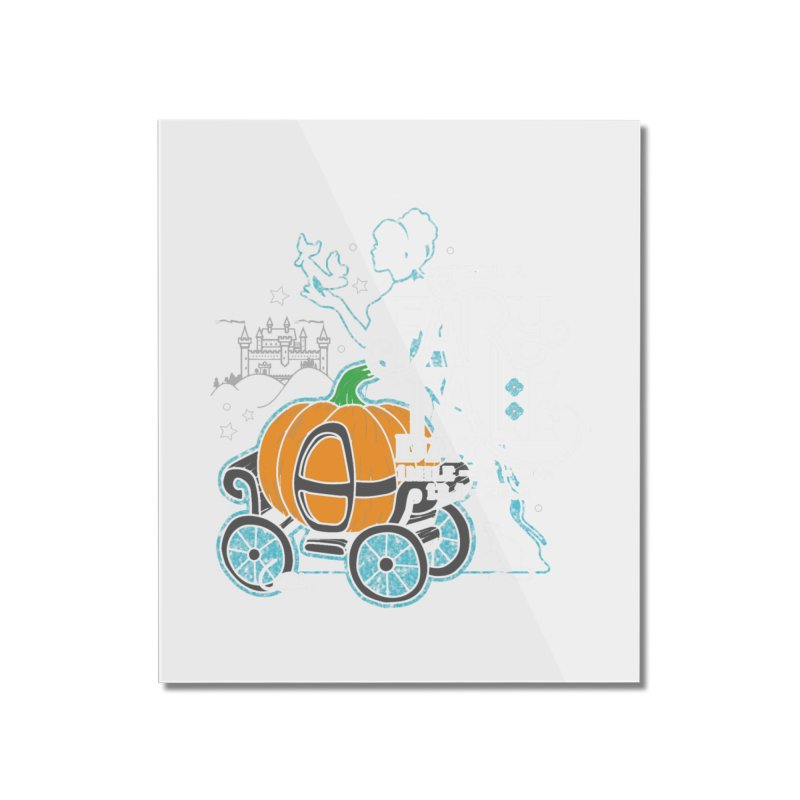 Fairy Tale Home Mounted Acrylic Print by Moon Joggers's Artist Shop