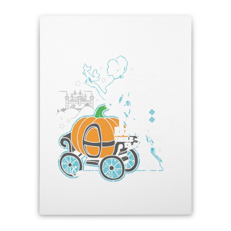 Fairy Tale Home Stretched Canvas by Moon Joggers's Artist Shop