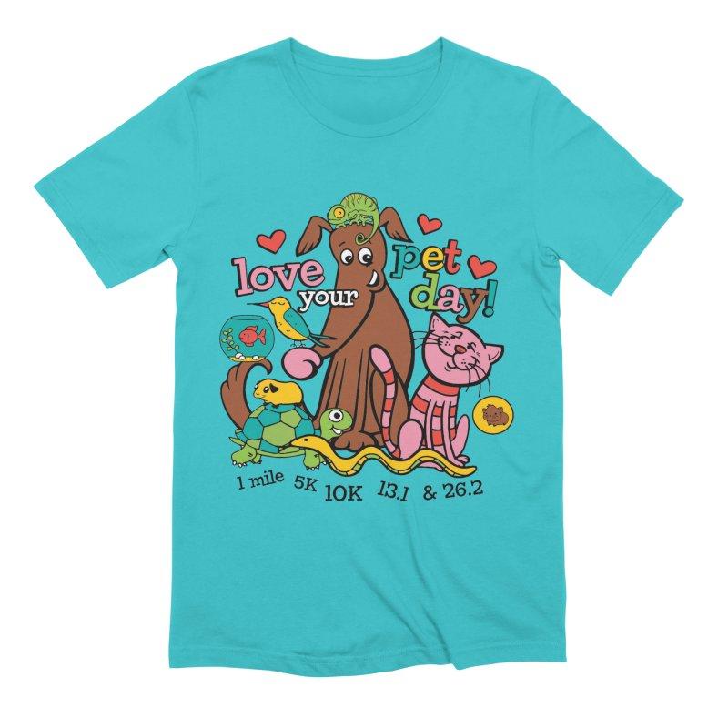 Love Your Pet Men's T-Shirt by Moon Joggers's Artist Shop