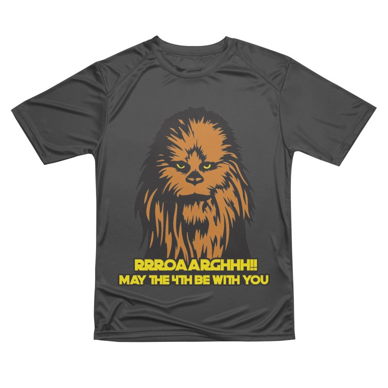 May the Fourth Be With You Women's Performance Unisex T-Shirt by Moon Joggers's Artist Shop