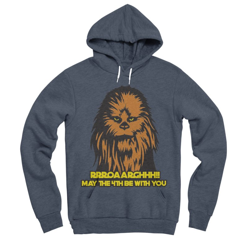 May the Fourth Be With You Men's Sponge Fleece Pullover Hoody by Moon Joggers's Artist Shop