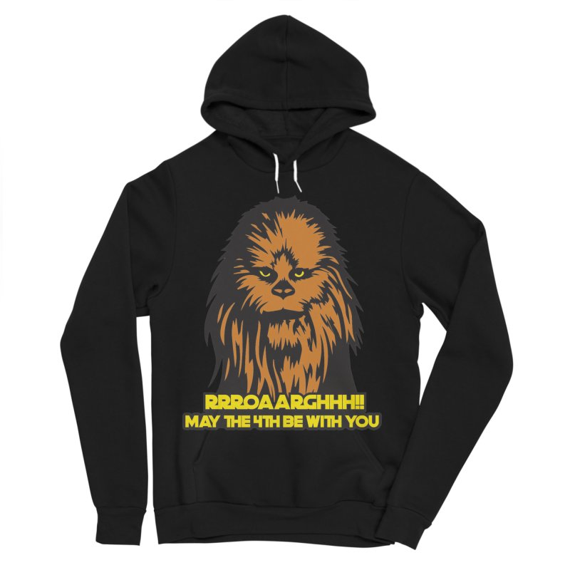 May the Fourth Be With You Women's Sponge Fleece Pullover Hoody by Moon Joggers's Artist Shop