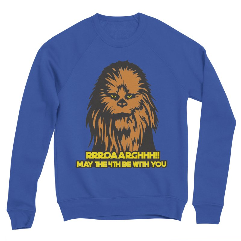 May the Fourth Be With You Men's Sponge Fleece Sweatshirt by Moon Joggers's Artist Shop