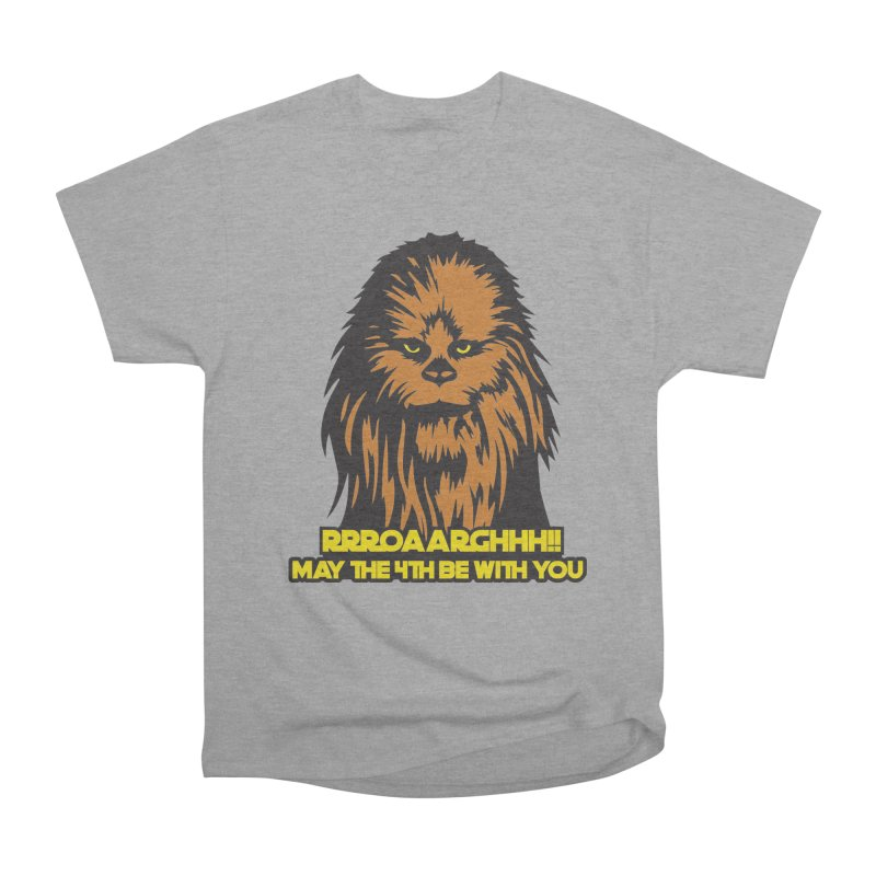 May the Fourth Be With You Men's Heavyweight T-Shirt by Moon Joggers's Artist Shop