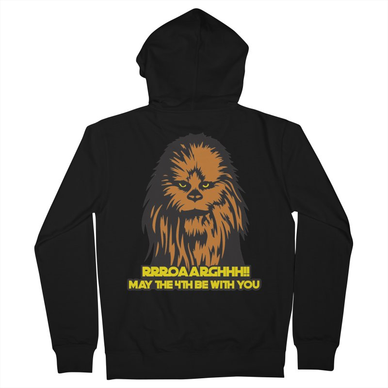 May the Fourth Be With You Men's French Terry Zip-Up Hoody by Moon Joggers's Artist Shop