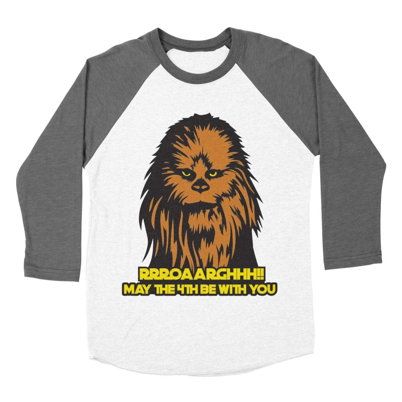 May the Fourth Be With You Women's Baseball Triblend Longsleeve T-Shirt by Moon Joggers's Artist Shop