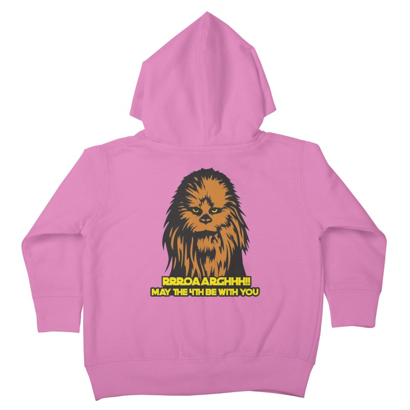 May the Fourth Be With You Kids Toddler Zip-Up Hoody by Moon Joggers's Artist Shop