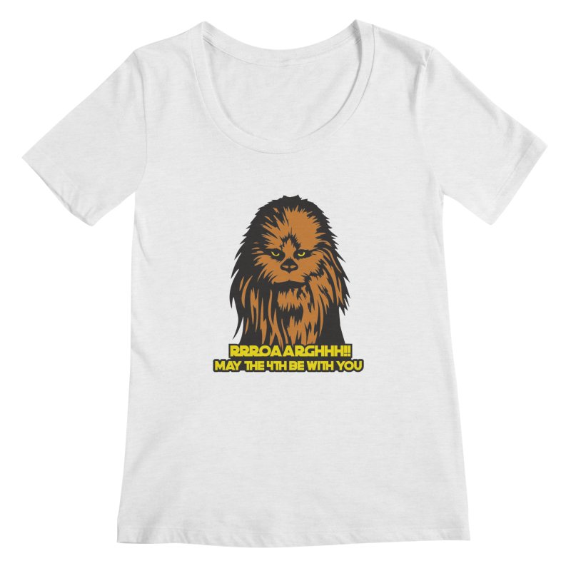 May the Fourth Be With You Women's Regular Scoop Neck by Moon Joggers's Artist Shop