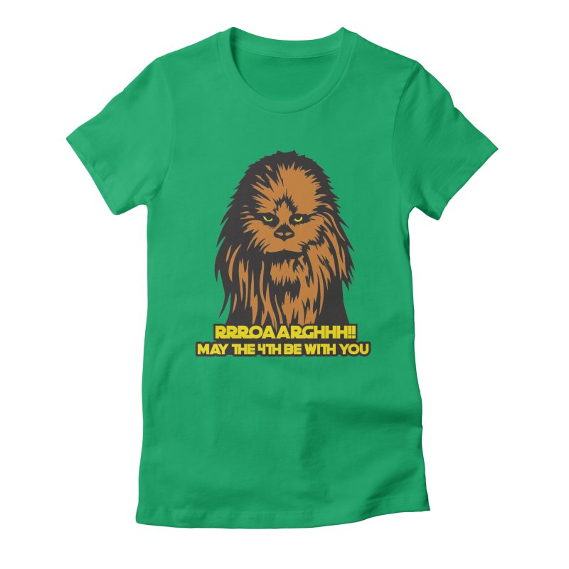 May the Fourth Be With You Women's Fitted T-Shirt by Moon Joggers's Artist Shop