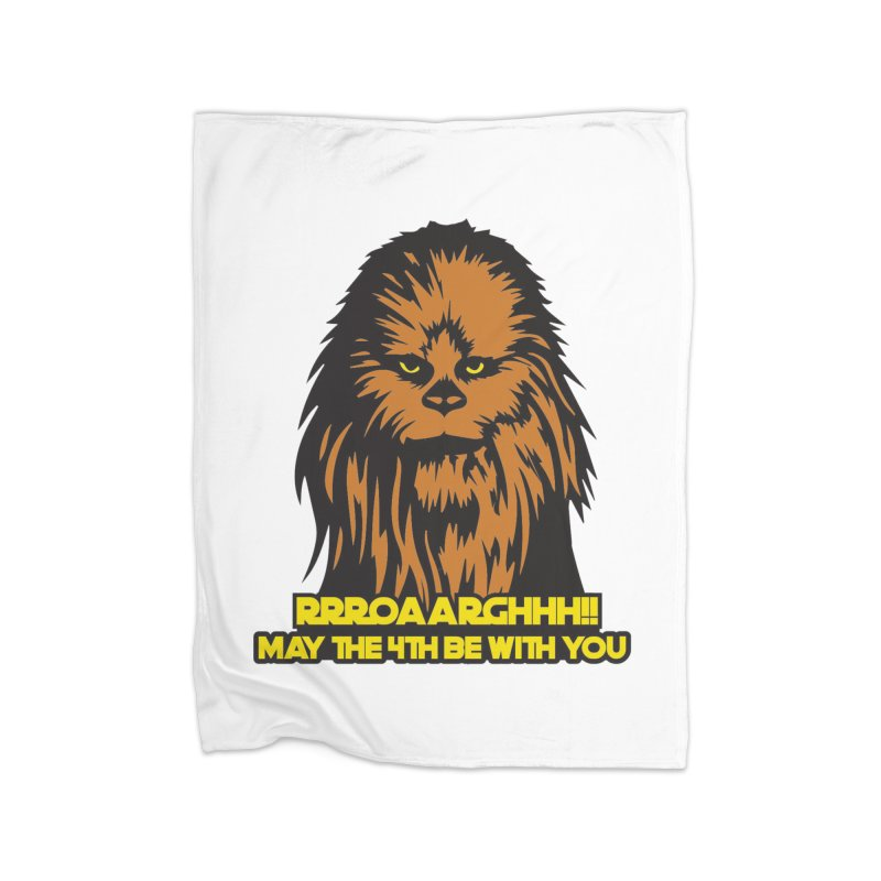 May the Fourth Be With You Home Fleece Blanket Blanket by Moon Joggers's Artist Shop