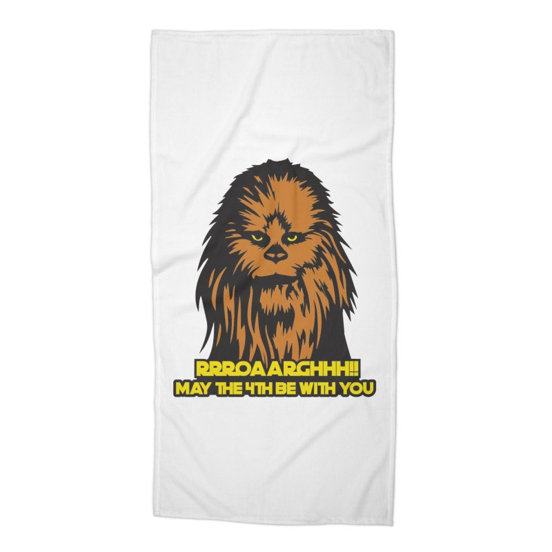 May the Fourth Be With You Accessories Beach Towel by Moon Joggers's Artist Shop