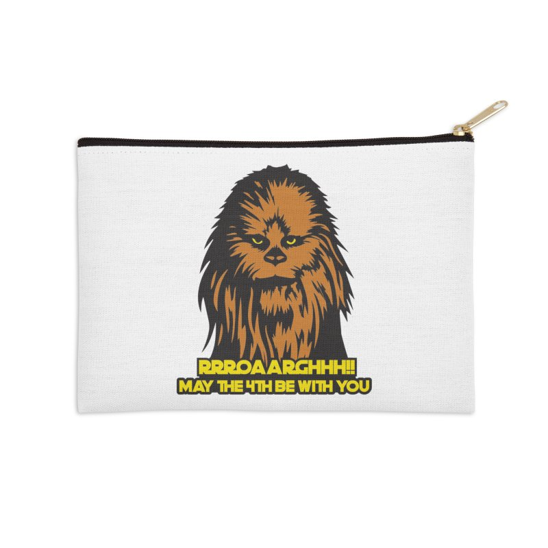 May the Fourth Be With You Accessories Zip Pouch by Moon Joggers's Artist Shop