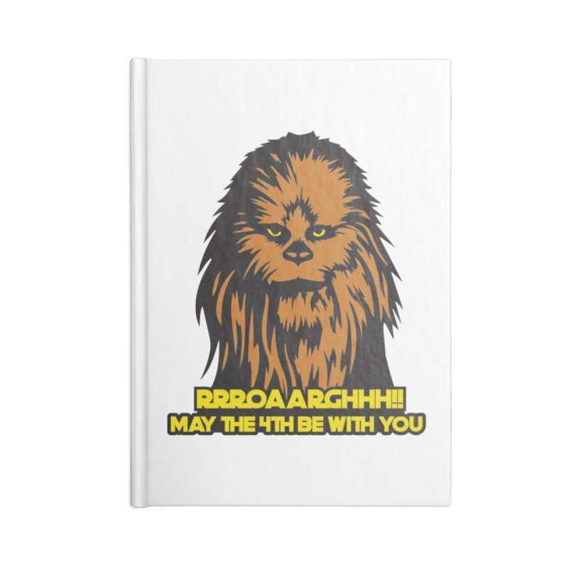 May the Fourth Be With You Accessories Lined Journal Notebook by Moon Joggers's Artist Shop