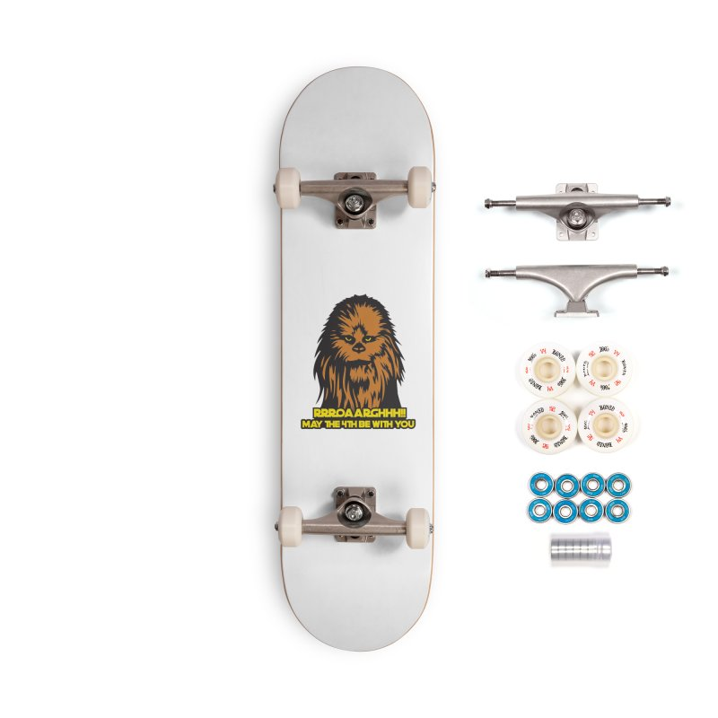May the Fourth Be With You Accessories Complete - Premium Skateboard by Moon Joggers's Artist Shop