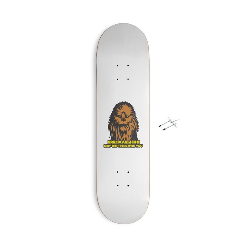 May the Fourth Be With You Accessories With Hanging Hardware Skateboard by Moon Joggers's Artist Shop