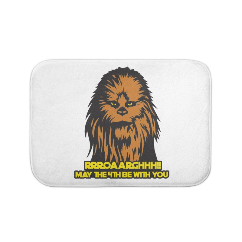 May the Fourth Be With You Home Bath Mat by Moon Joggers's Artist Shop