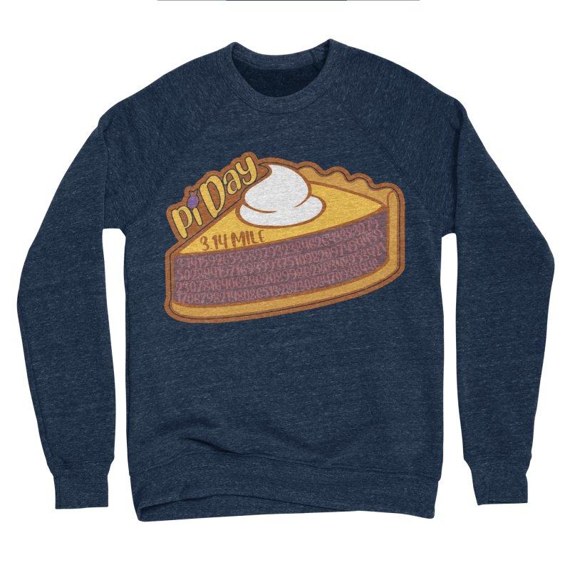 Pi Day Men's Sponge Fleece Sweatshirt by Moon Joggers's Artist Shop