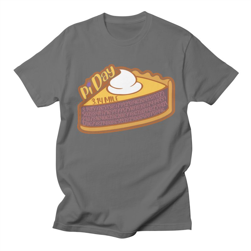 Pi Day Men's T-Shirt by Moon Joggers's Artist Shop