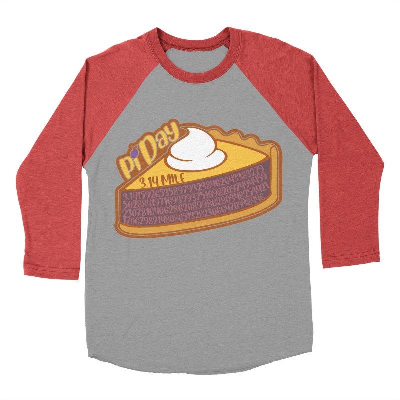 Pi Day Women's Baseball Triblend Longsleeve T-Shirt by Moon Joggers's Artist Shop