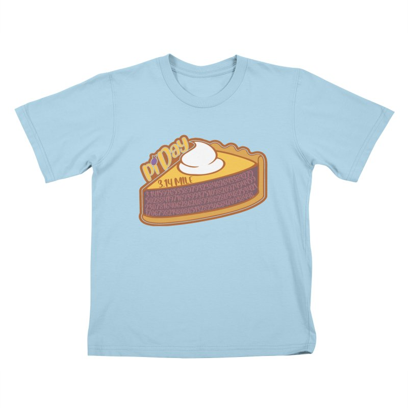 Pi Day Kids T-Shirt by Moon Joggers's Artist Shop