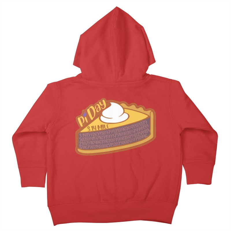 Pi Day Kids Toddler Zip-Up Hoody by Moon Joggers's Artist Shop
