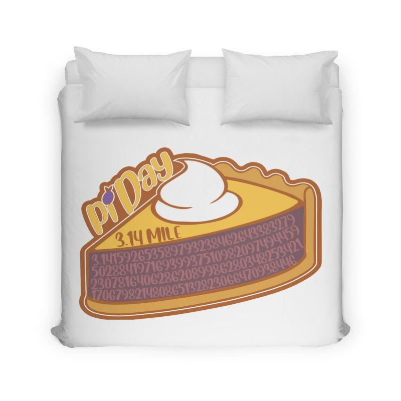 Pi Day Home Duvet by Moon Joggers's Artist Shop