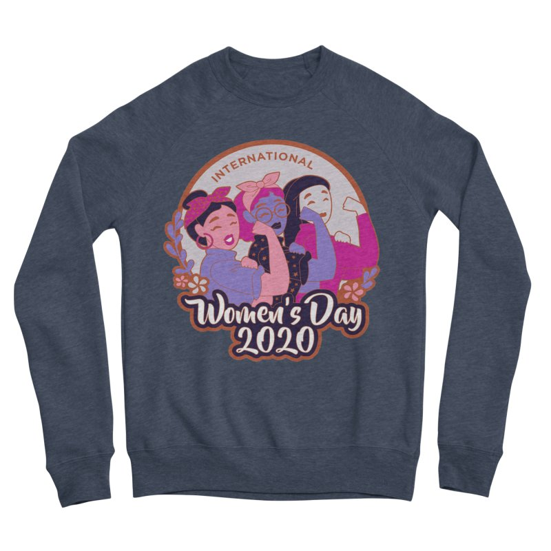 International Women's Day Men's Sponge Fleece Sweatshirt by Moon Joggers's Artist Shop