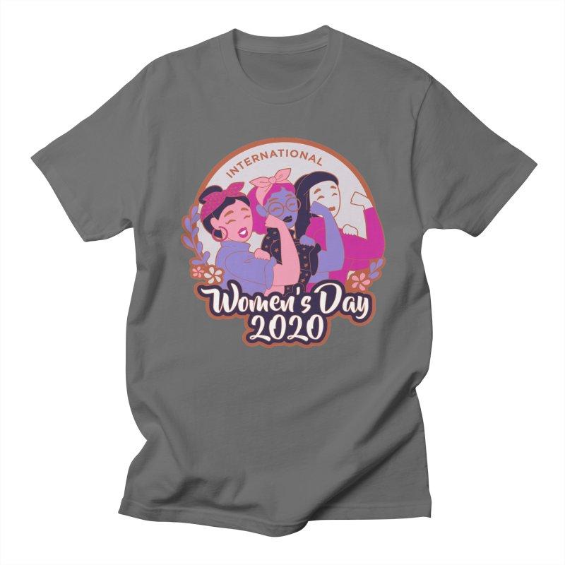 International Women's Day Men's T-Shirt by Moon Joggers's Artist Shop