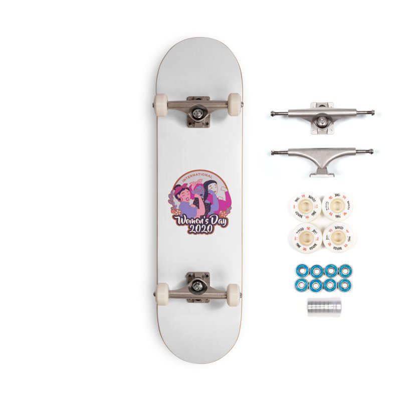 International Women's Day Accessories Complete - Premium Skateboard by Moon Joggers's Artist Shop