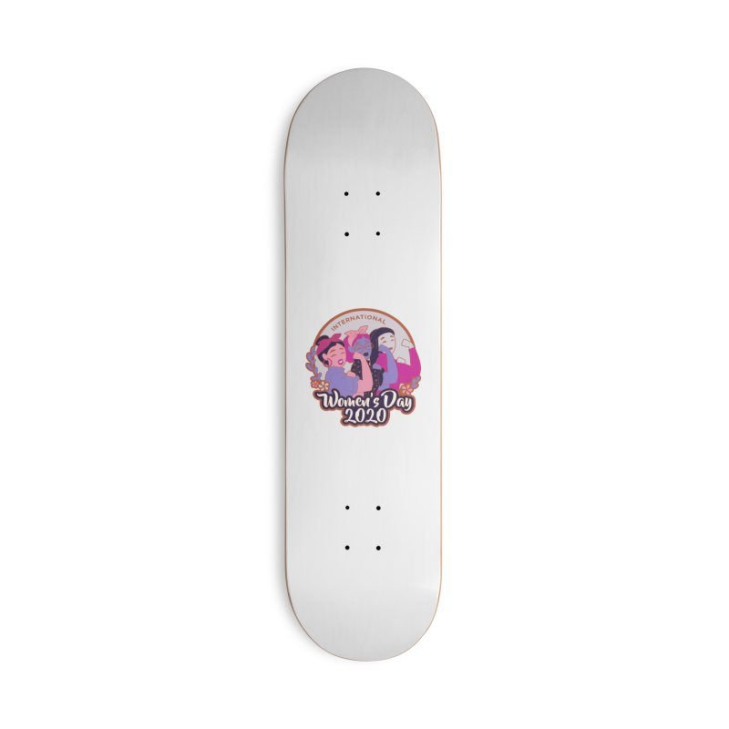 International Women's Day Accessories Deck Only Skateboard by Moon Joggers's Artist Shop