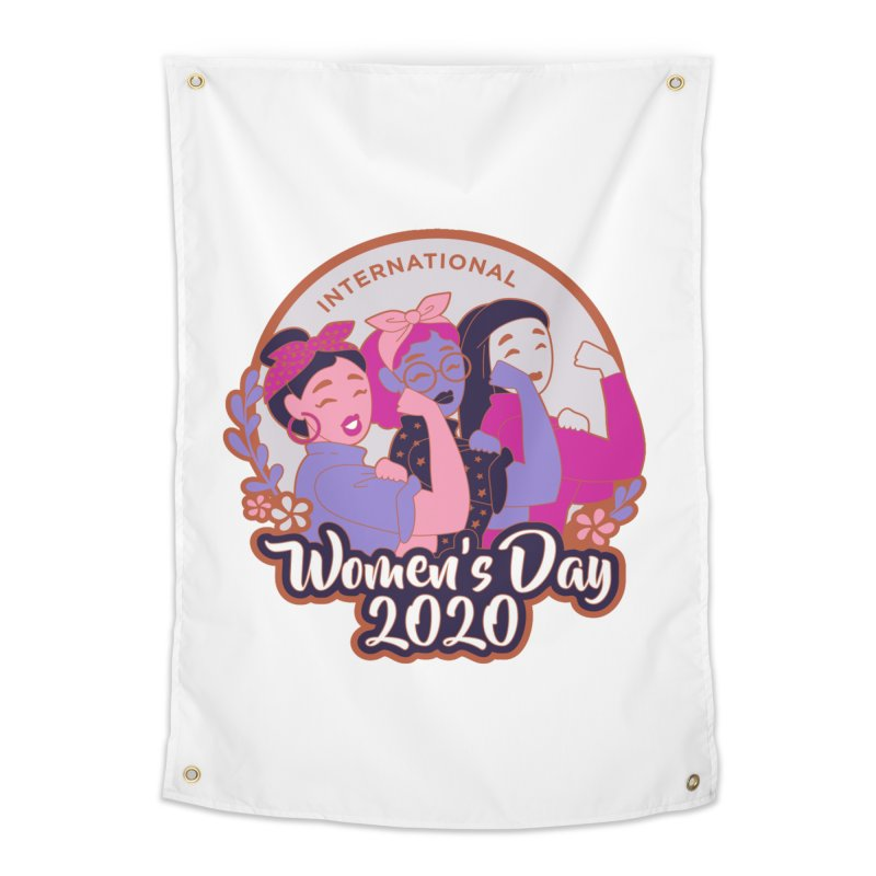 International Women's Day Home Tapestry by Moon Joggers's Artist Shop