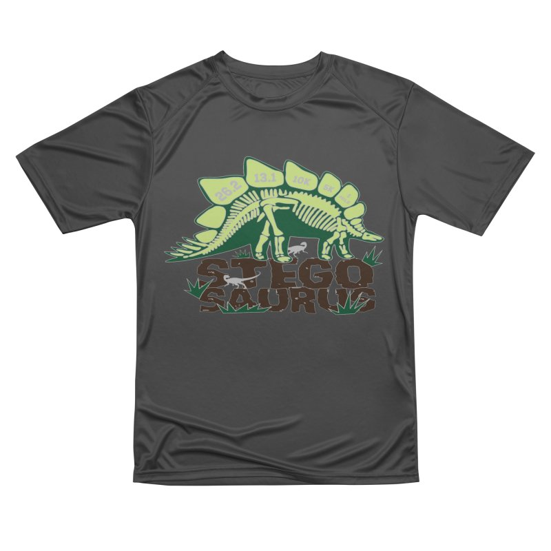 Dinosaurs! Stegosaurus Women's Performance Unisex T-Shirt by Moon Joggers's Artist Shop