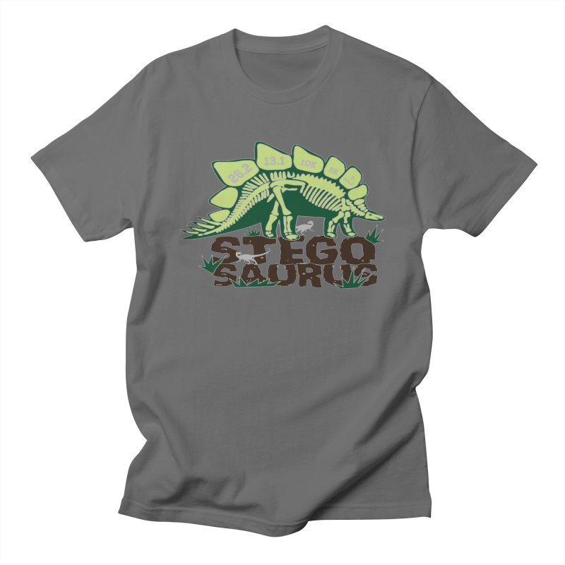 Dinosaurs! Stegosaurus Men's T-Shirt by Moon Joggers's Artist Shop