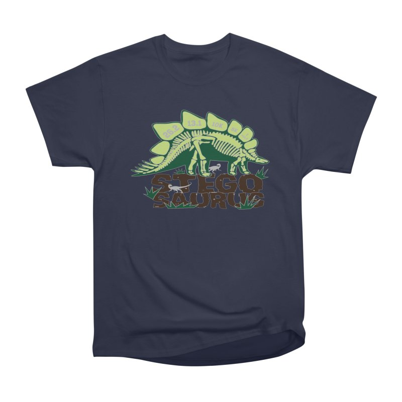 Dinosaurs! Stegosaurus Men's Heavyweight T-Shirt by Moon Joggers's Artist Shop
