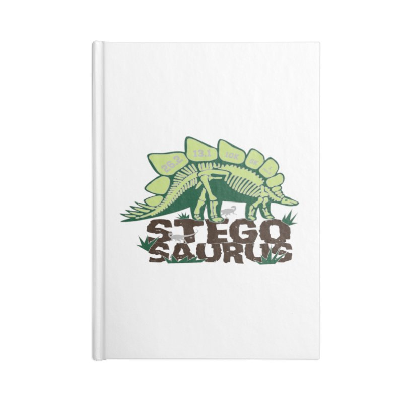 Dinosaurs! Stegosaurus Accessories Lined Journal Notebook by Moon Joggers's Artist Shop