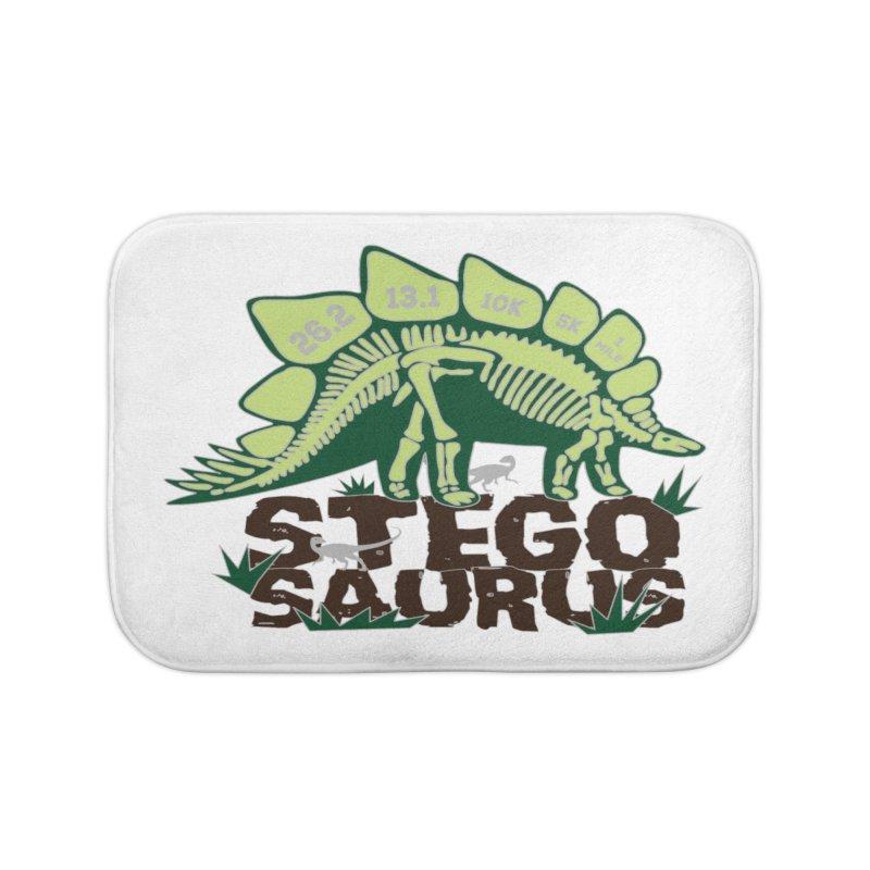 Dinosaurs! Stegosaurus Home Bath Mat by Moon Joggers's Artist Shop