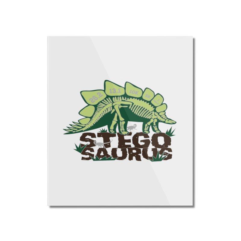 Dinosaurs! Stegosaurus Home Mounted Acrylic Print by Moon Joggers's Artist Shop