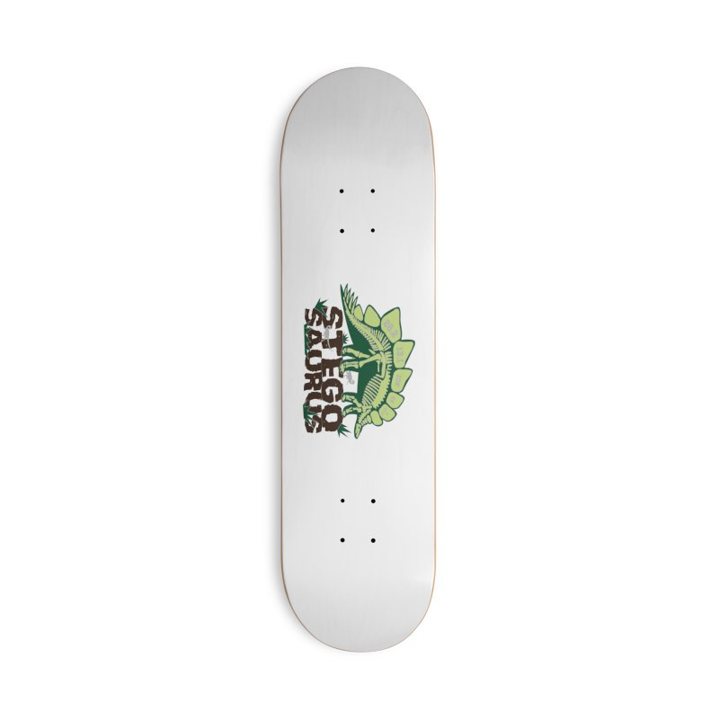Dinosaurs! Stegosaurus Accessories Deck Only Skateboard by Moon Joggers's Artist Shop