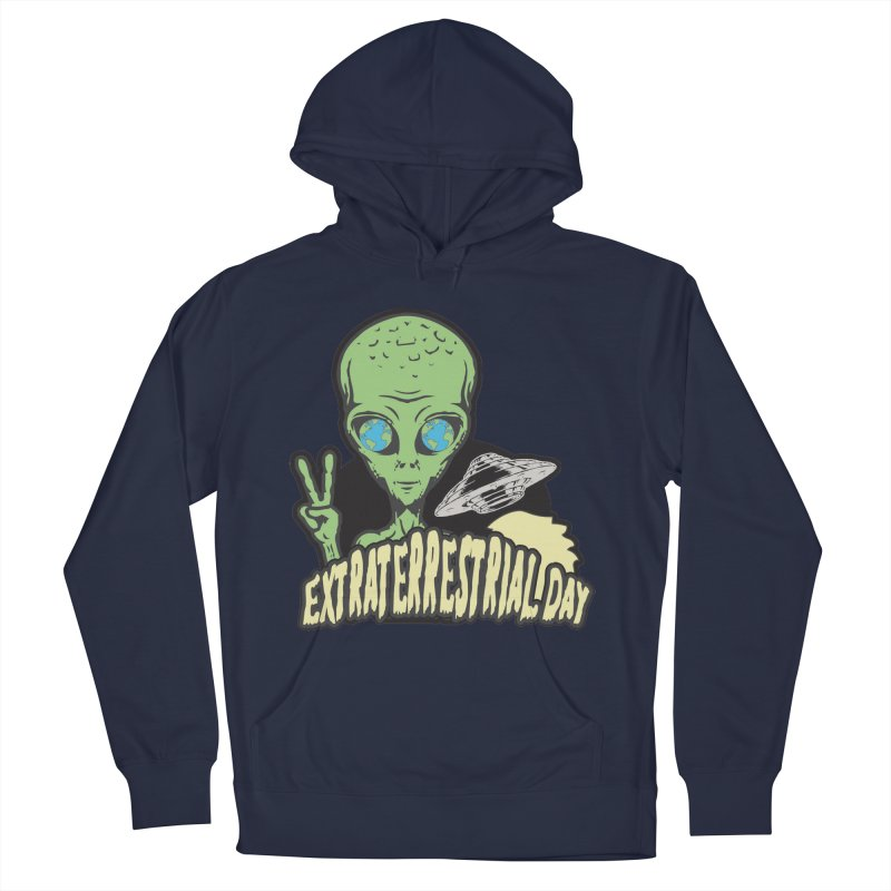 Extraterrestrial Day Men's Pullover Hoody by Moon Joggers's Artist Shop