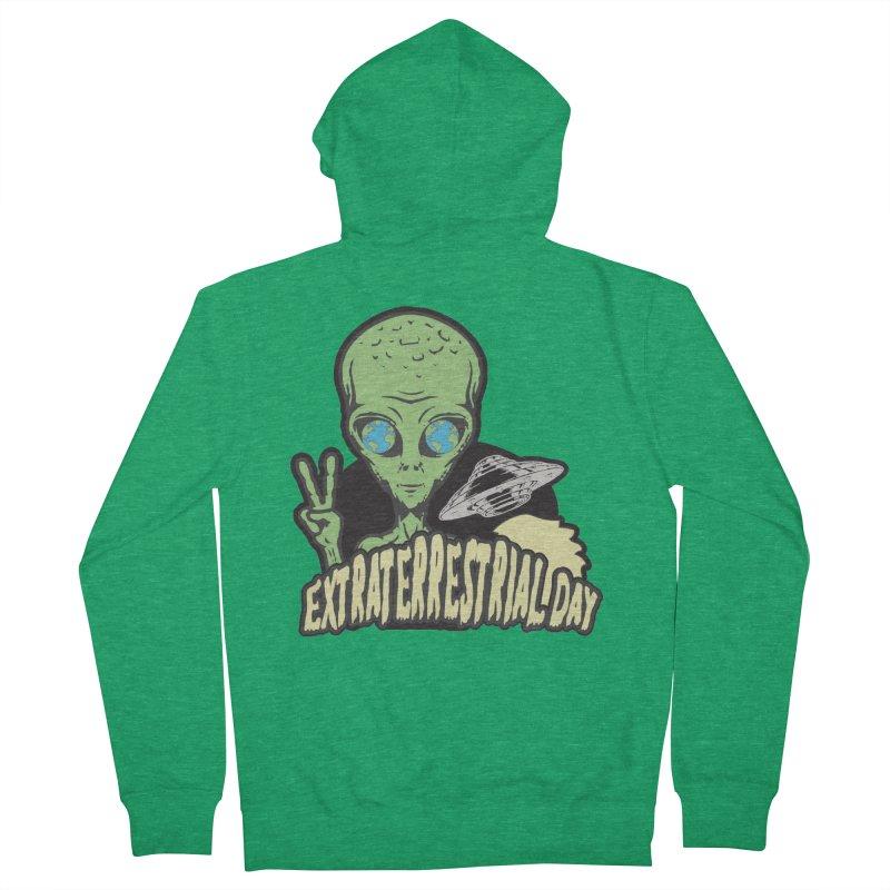 Extraterrestrial Day Men's Zip-Up Hoody by Moon Joggers's Artist Shop