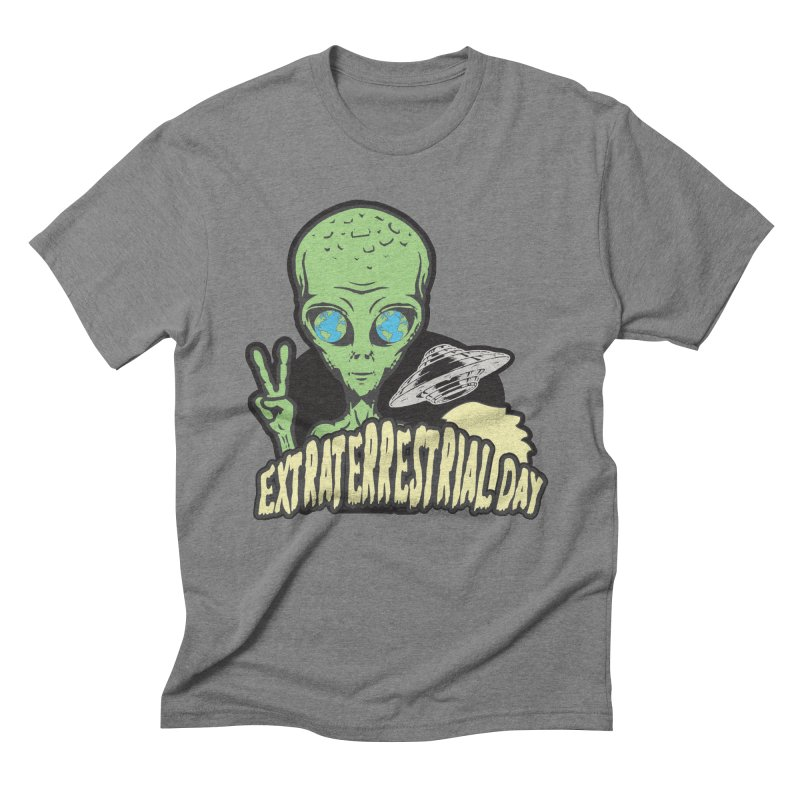 Extraterrestrial Day Men's T-Shirt by Moon Joggers's Artist Shop
