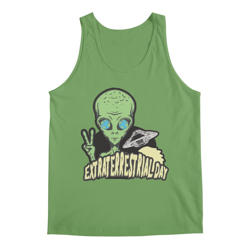 Extraterrestrial Day Men's Tank by Moon Joggers's Artist Shop