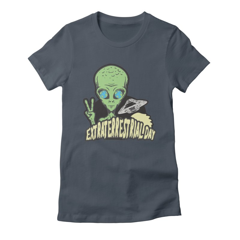 Extraterrestrial Day Women's T-Shirt by Moon Joggers's Artist Shop
